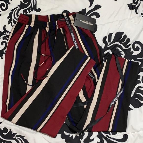 PrettyLittleThing Pants - PLT multicolor pants NWT!